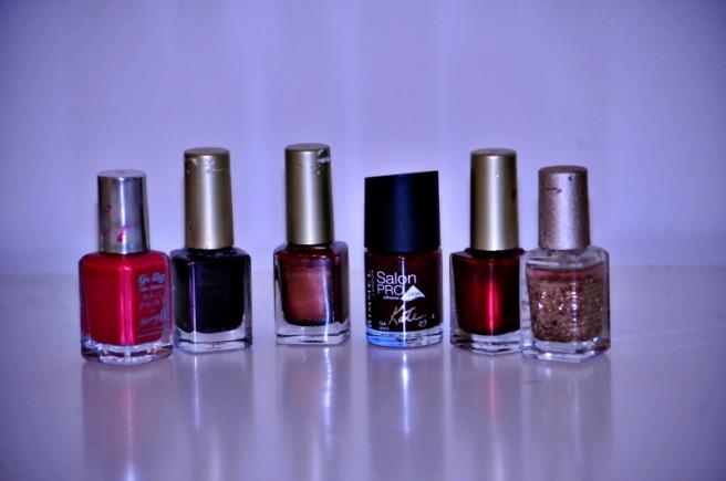 Winter Autumn nail polish